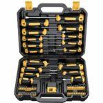 La mejor opción de herramientas manuales: Juego de destornilladores magnéticos CREMAX 57 piezas