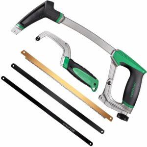 La mejor opción de herramientas manuales: sierra para metales METAKOO con mini sierra para metales