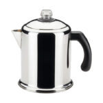 La mejor opción de percolador de café: Percolador de acero inoxidable Farberware Yosemite de 8 tazas