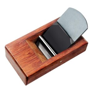 La mejor opción de plano manual: Cepillo manual para carpintería YOGEON, palo de rosa 4 A