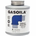 La mejor opción de sellador de roscas de tuberías: Gasoila - Sellador de roscas de tuberías de fraguado suave SS16 con PTFE