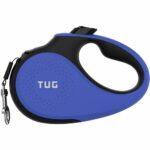 Las mejores opciones de correas para perros retráctiles: correa para perros retráctil de servicio pesado TUG 360 ° sin enredos