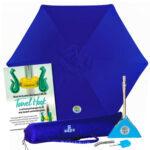 Las mejores opciones de sombrillas de playa: BEACHBUB All-in-One Beach Umbrella System