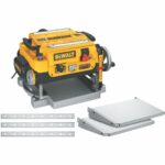 La mejor opción de cepilladora de sobremesa: cepilladora de espesor de 13 pulgadas DEWALT, modelo DW735X