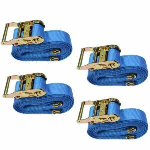 La mejor opción de correas de trinquete: Malone Auto Racks SpeedLine Mini Ratchet Tie-Downs