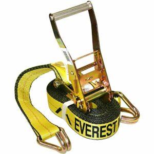 La mejor opción de correas de trinquete: amarre de trinquete Everest Premium