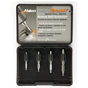 La mejor opción de extractor de tornillos: Extractor de tornillos rotos micro Grabit Alden 4507P