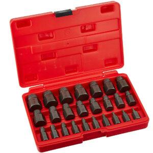 La mejor opción de extractor de tornillos: Juego de extractor de tornillos y pernos Neiko Multi-Spline