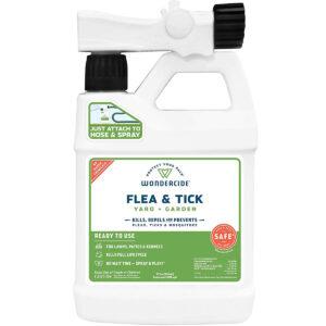 El mejor spray para garrapatas para la opción de jardín: Wondercide - Listo para usar para pulgas, garrapatas y mosquitos